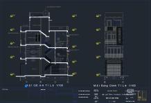 Mẫu nhà phố 4 tầng Full - KT 3x12m
