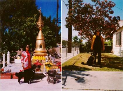 Mẹ tôi và chó Lu, 1998