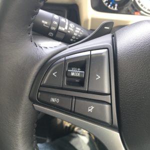 クロスビーオーディオコントロールボタン