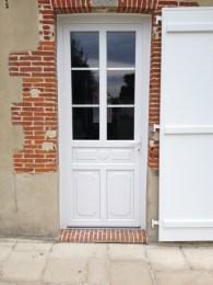 Porte d'entrée ASTER PVC