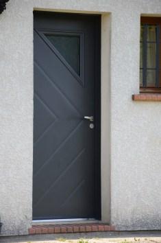 porte d'entrée acier