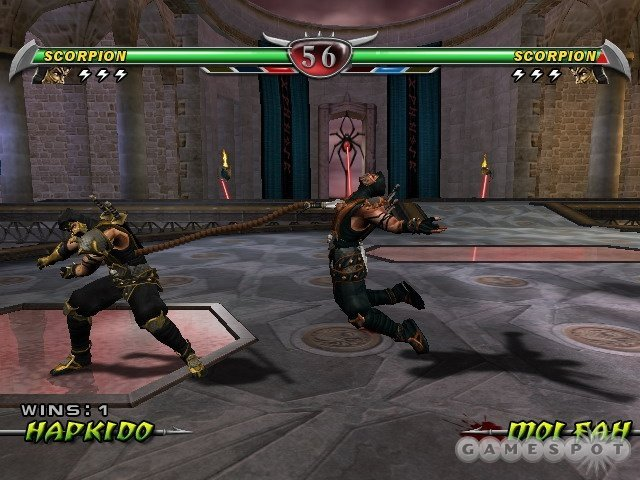 Mortal Kombat Deception 2004 Xbox360 Xbox 360