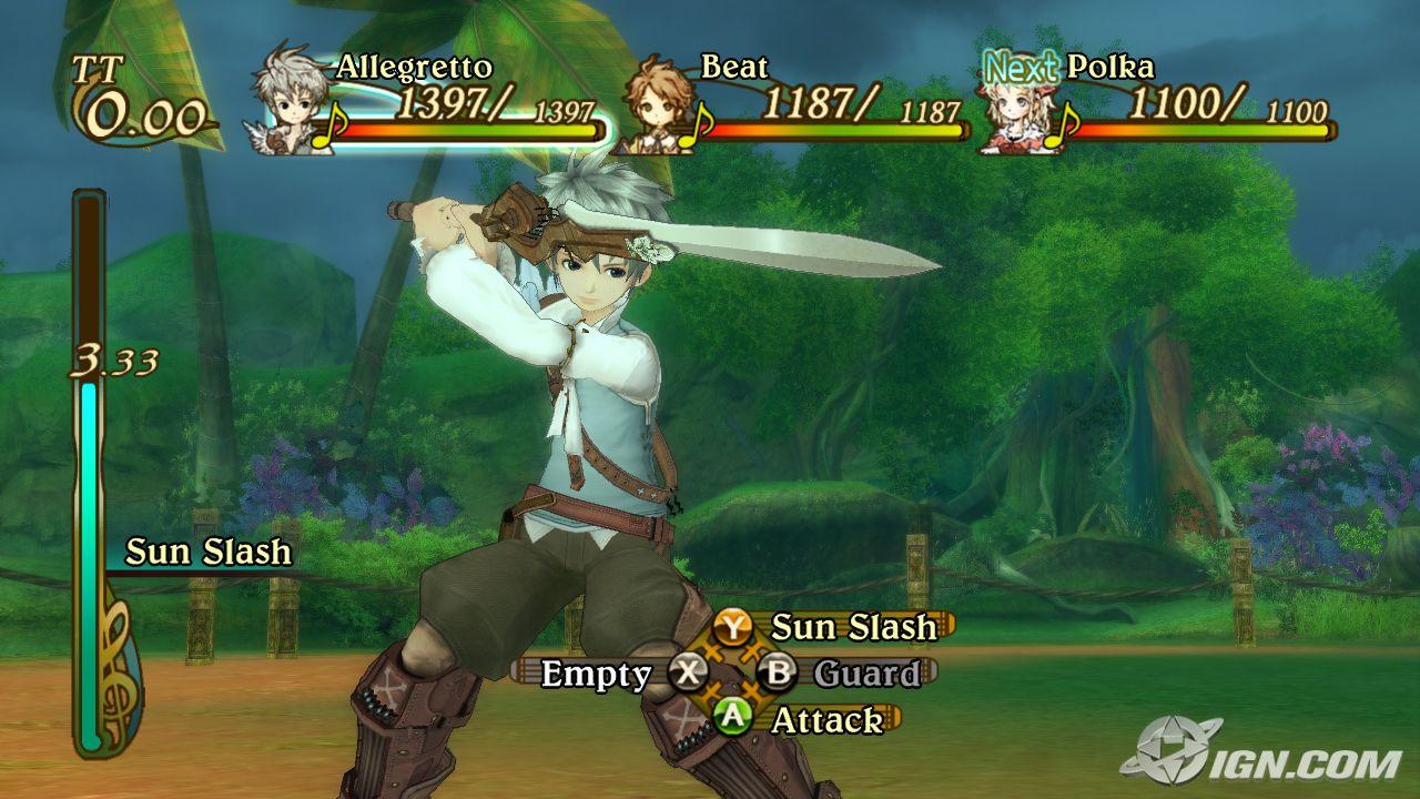 Eternal Sonata's Battle System