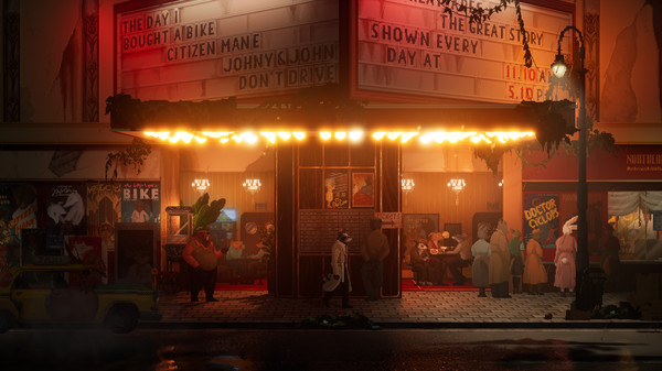 Detective noir adventure game Backbone coming to PS4, Xbox One, Switch, and PC in early 2021 - Gematsu