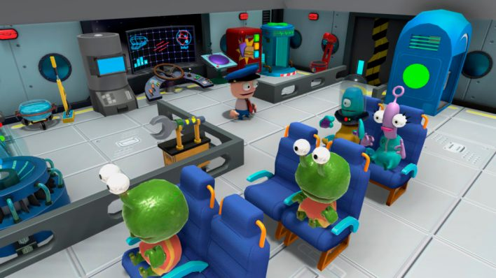 Spaceline Crew - The Ultimate Sci-fi Couch Co-op Experience - myPotatoGames