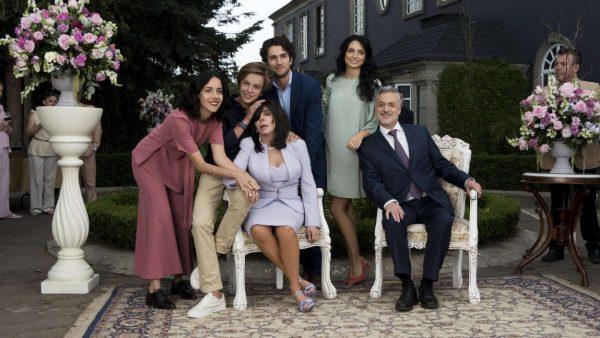 Casa Flores familieportret