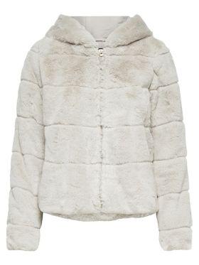 Only fake fur coat
