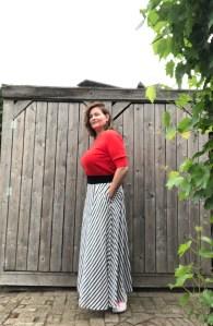 rode trui korte mouw YAYA