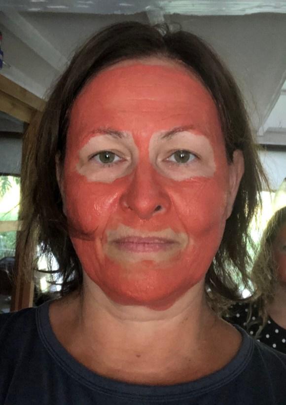 face mask chocolate clay Ka