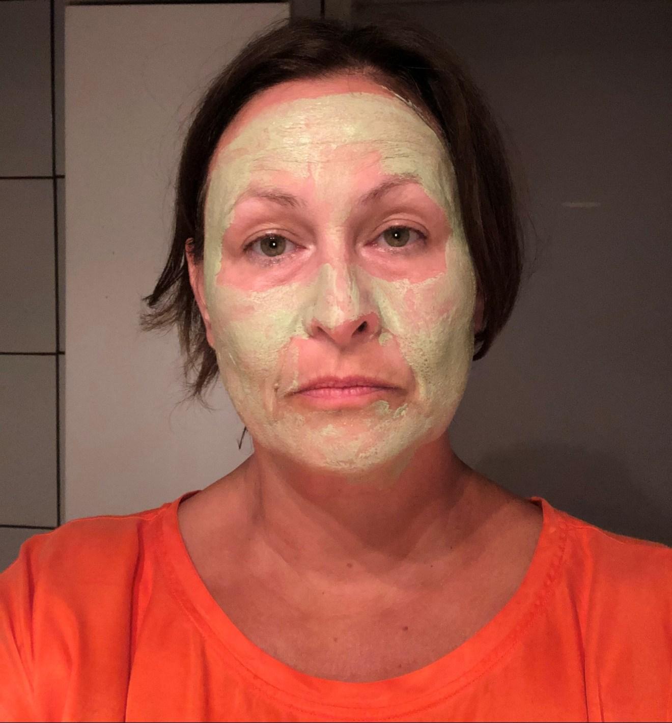 avocado mud mask