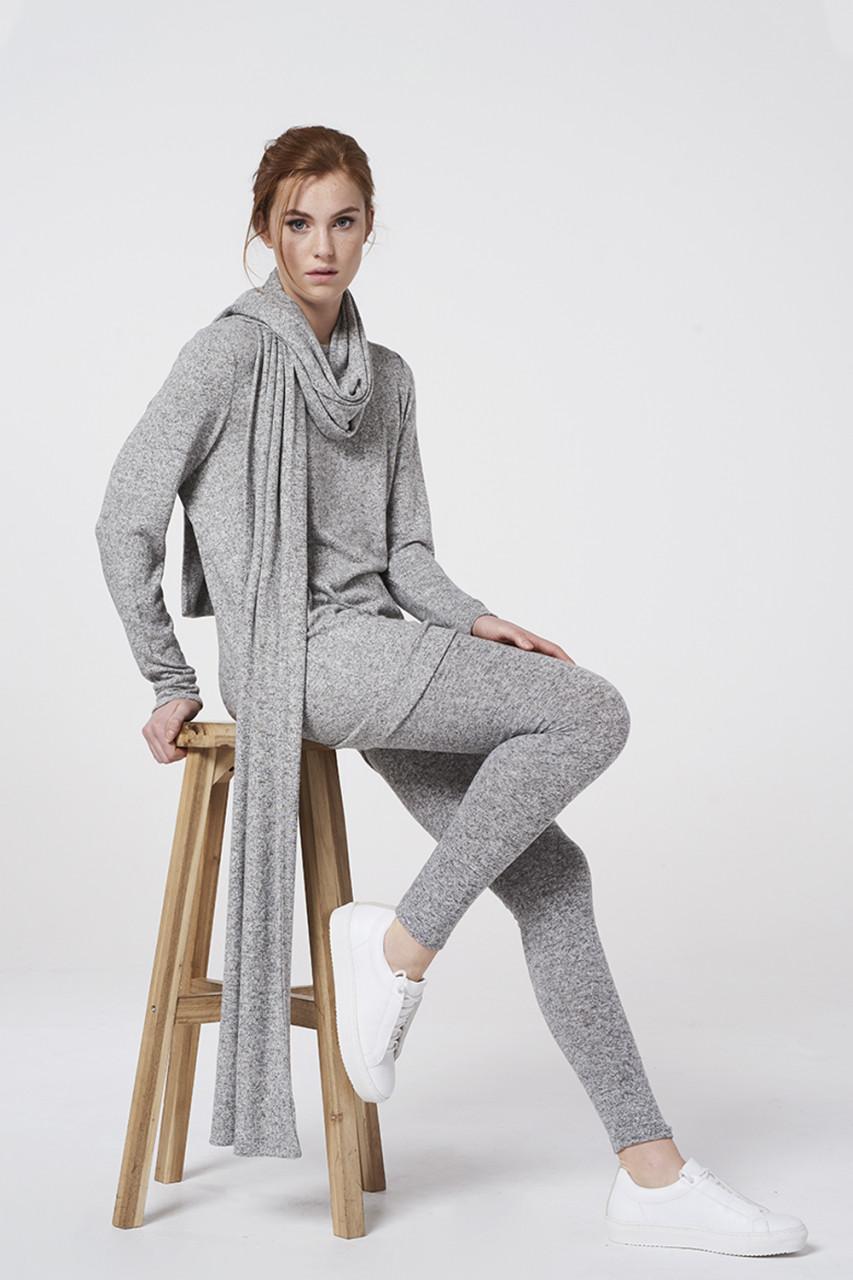Simple grijze outfit