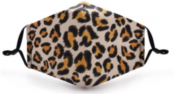 Mondkapje ruit en luipaard