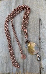 Pimps&Pearls ketting met hanger