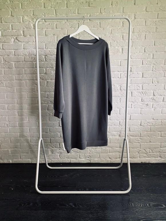 jurk van sweatstof