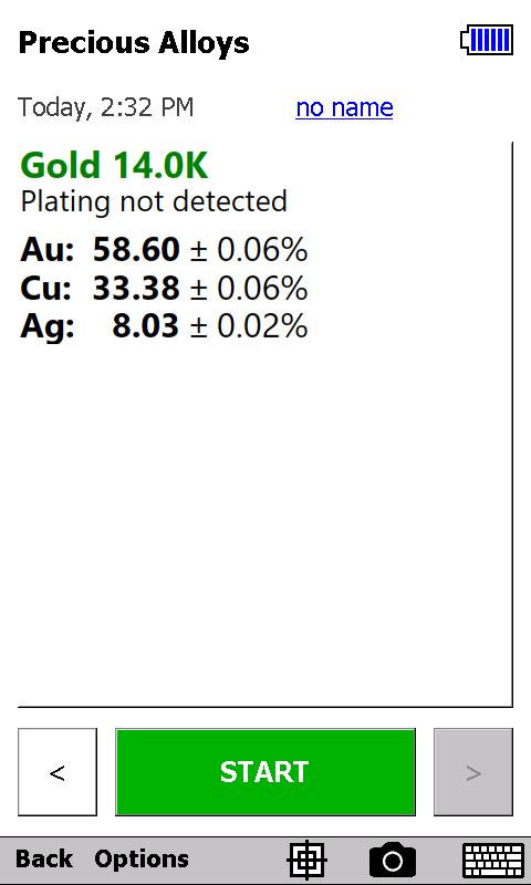Precious metals analysis