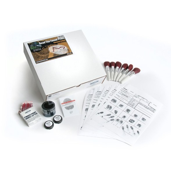 Read the Found Prints Fingerprint Analysis Kit
