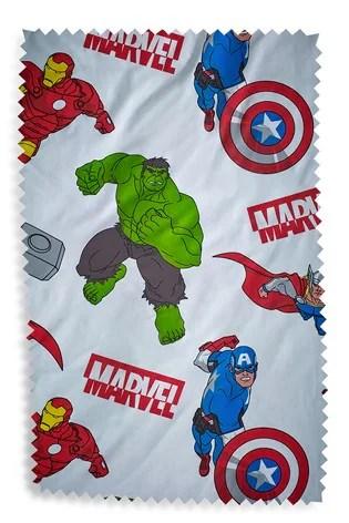 marvel avengers reversible duvet cover and pillowcase set