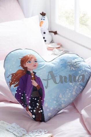 disney frozen 2 elsa and anna cushion