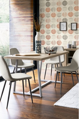 Buy Barkley Fixed Dining Table From The Next UK Online Shop