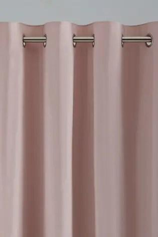cotton eyelet blackout thermal curtains