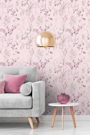 Buy Mariko Floral Wallpaper By Crown From The Next Uk Online Shop