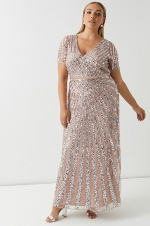 Blusdh Maya Curve embellished maxi dress