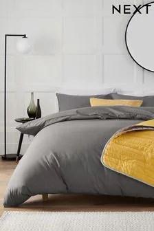 grey bedding bed linen grey duvet
