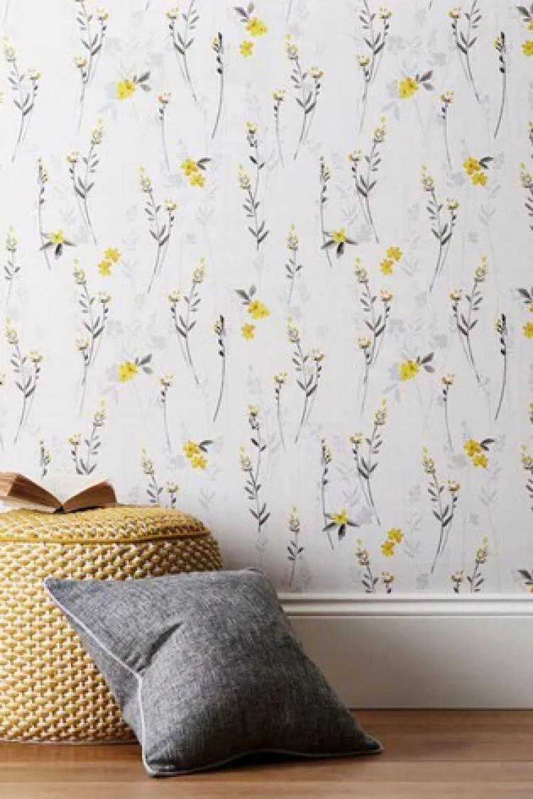 Paste The Wall Eden Floral Wallpaper