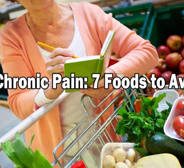 foods chronic pain