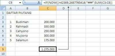 Hide Protek Excel1