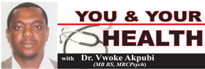 Dr. Vwoke Akpubi on depression