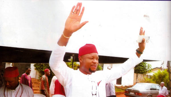 Engr Emeka Nwaobi of People's Democratic Party, PDP