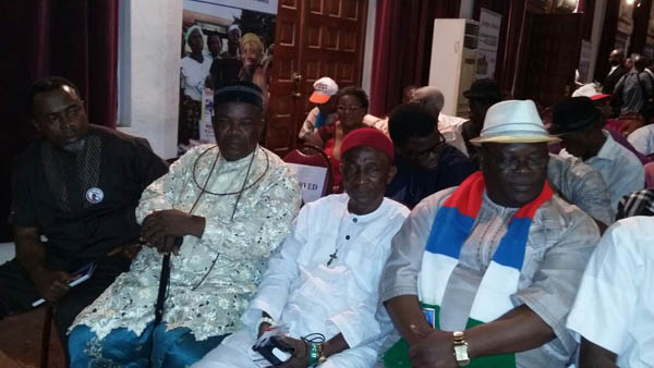 A Cross section of the VIP guests