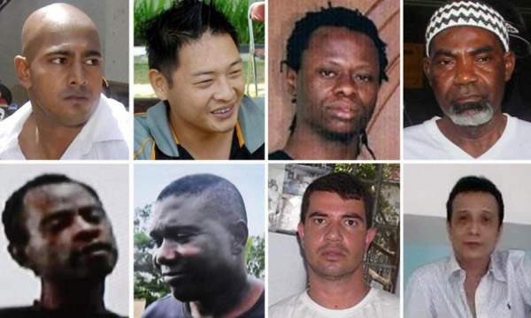 11 Nigerians on Death Row in Indonesia for Drug-Related Offences