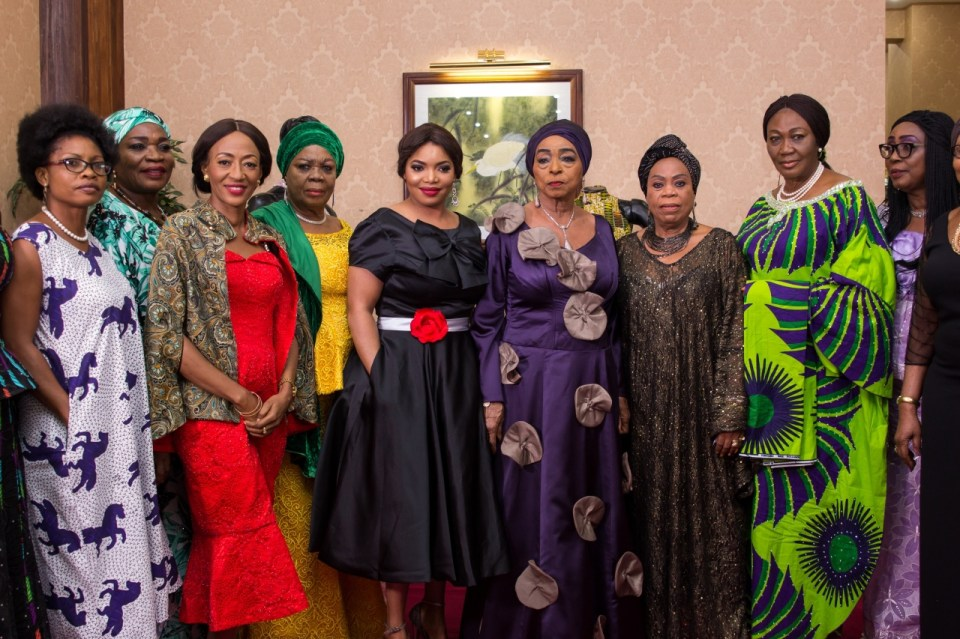 "Celebrity Fashion: When ""Luxe meets Modest"" at Oriental Hotel, Lagos"