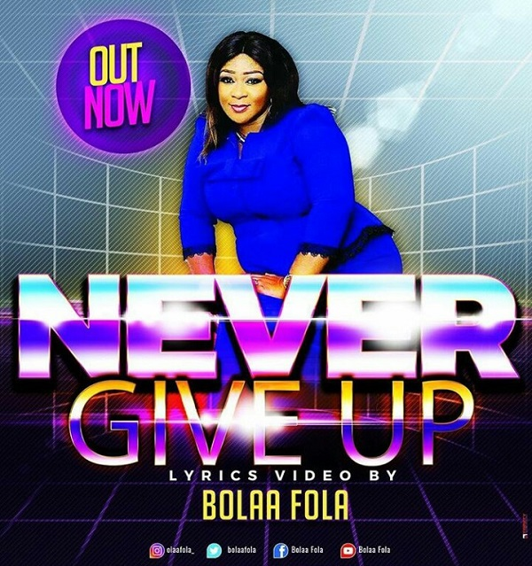 VIDEO: Bolaa Fola – What A Mighty God + Never Give Up | @bolaafola 1