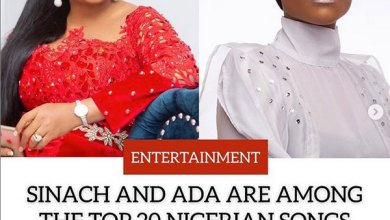 Photo of Sinach and ADA named among the Top 20 Nigerian Artists of the Decade