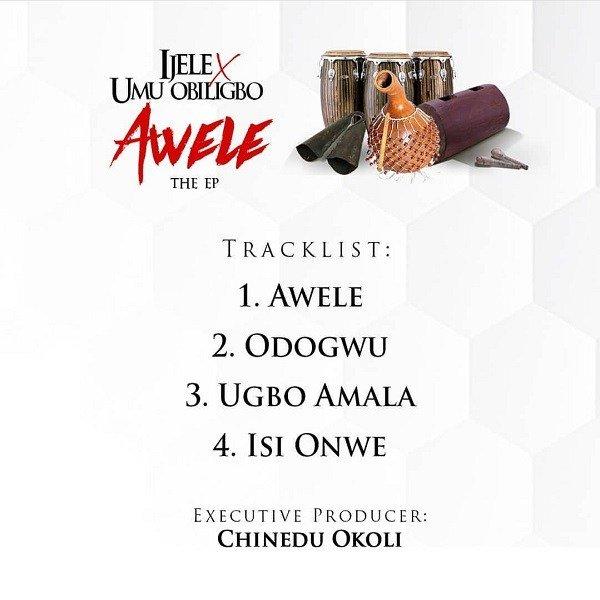 Flavour ft Umu Obiligbo Awele The EP Tracklist