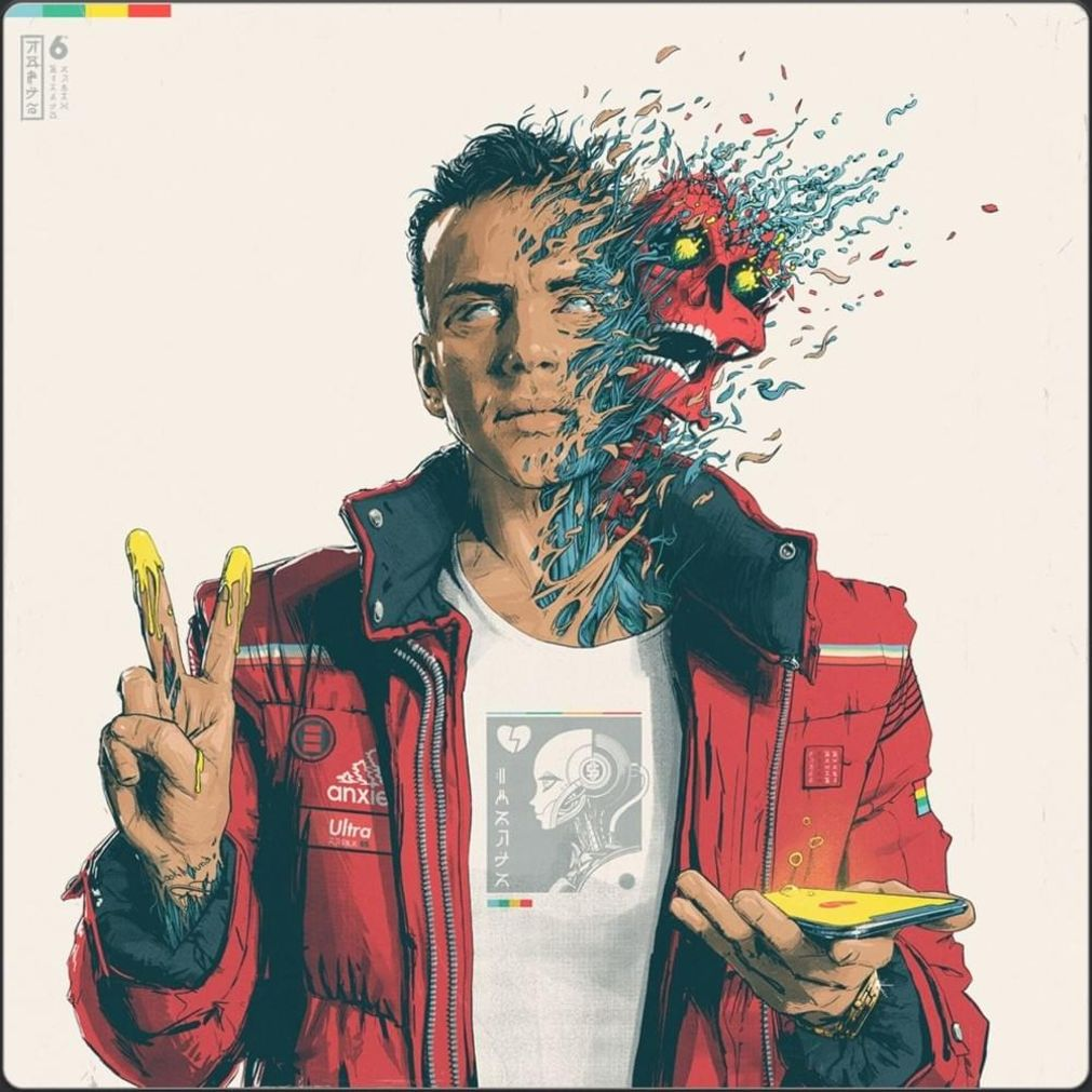 Logic Confessions Of A Dangerous Mind Album Art Cover