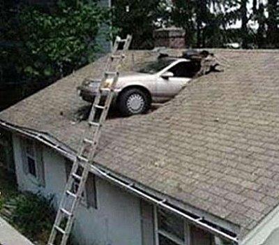 crazy car crash