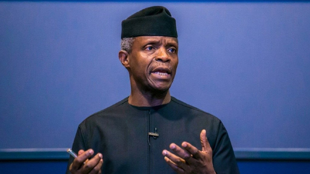 5B8rYUCb nigerian vice president yemi osinbajo contradicts central bank says cryptocurrencies must regulated and not prohibited