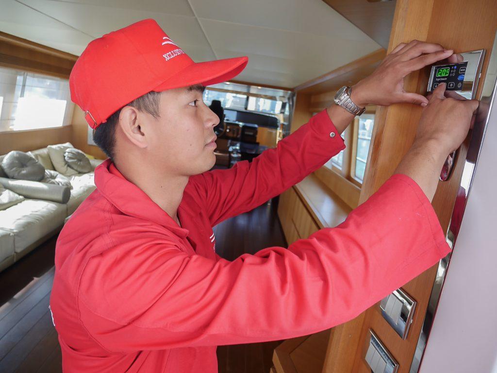 Dubai Boat Air Conditioning Service Xclusive Marine
