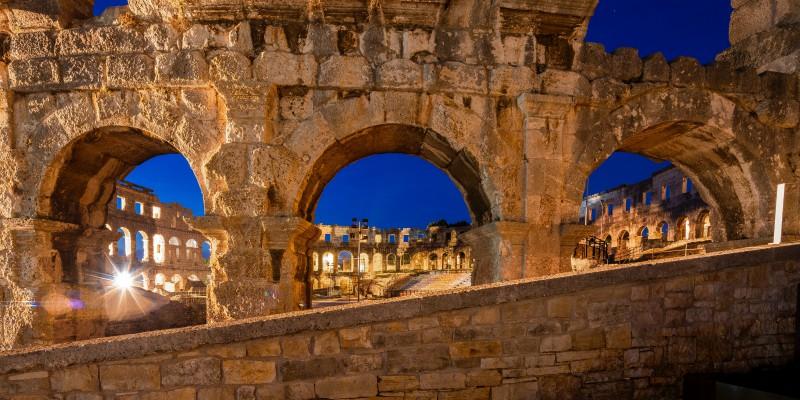 Pula colosseum Croatia Xclusivity
