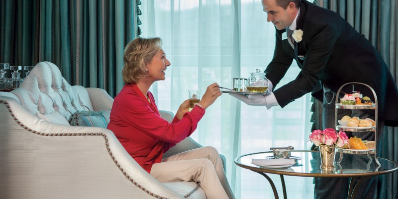 Butler service onboard Uniworld Boutique River Cruises