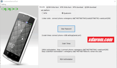 Oppo Customer Service Tool V1 4 100% Tested Download | XDAROM COM