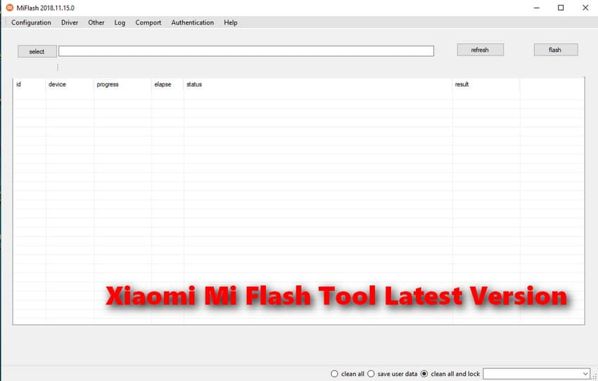 Xiaomi Mi Flash Tool Download | Official All Version
