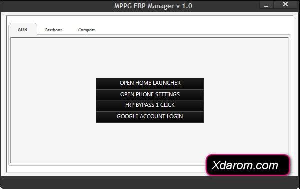 Samsung FRP Manager Tool V1.0