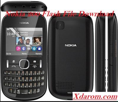 Nokia 200 Flash File