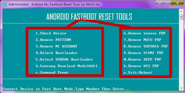 Android Fastboot Reset Tool 100% Tested Download | XDAROM COM