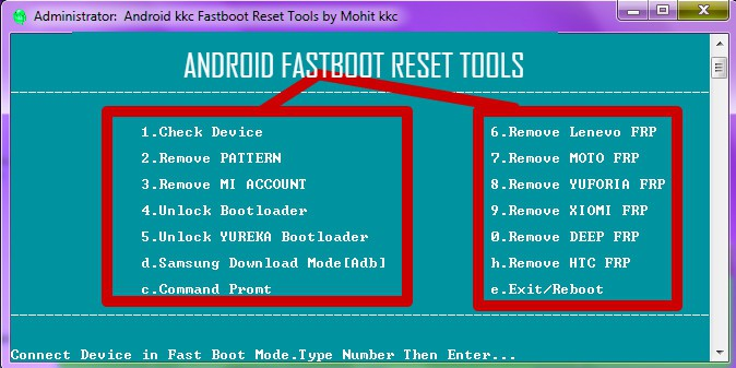 Android Reset Tool exe